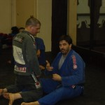 John Crouch explaining half guard basics.